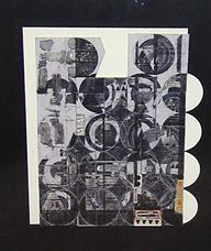 May Circles, 1969 collage on cardboard panel 19.5 x 16.125 inches 49.5 x 41 cm