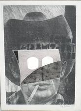 Ray Johnson. Untitled James Dean Mask