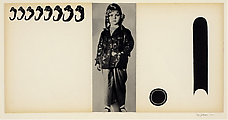 Shirley Temple II, 1967. Collage on illustration board, 45.5 x 52 cm. Richard L. Feigen & Co