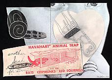 Havahart, 1977. Collage with ink drawing, 13.25 x 19. Walker Art Center