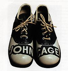 A Shoe John Cage Shoes, 1977. Richard L. Feigen