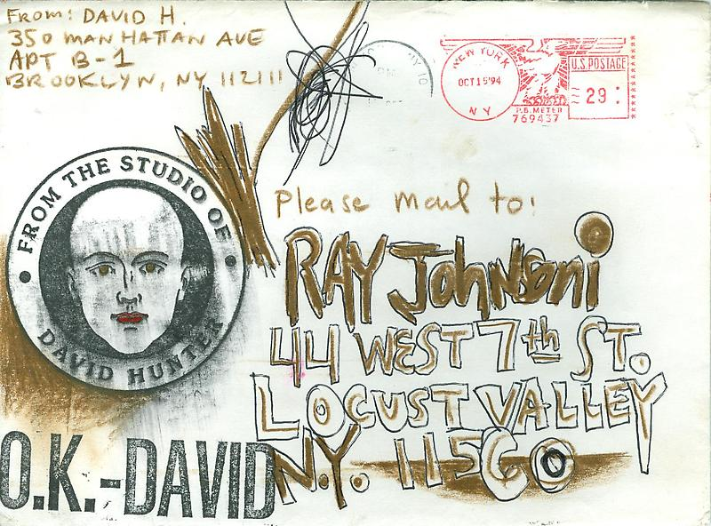 11 - Envelopes - Mail Art & Ephemera - Art - Ray Johnson Estate