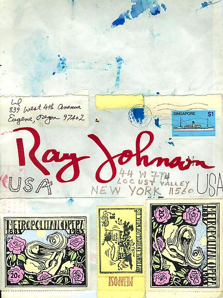 12 - Envelopes - Mail Art & Ephemera - Art - Ray Johnson Estate