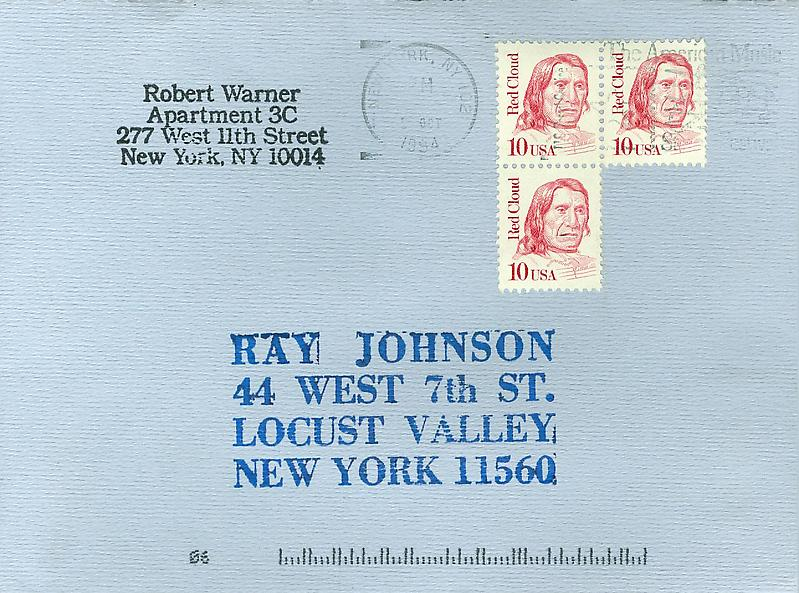 4 - Envelopes - Mail Art & Ephemera - Art - Ray Johnson Estate