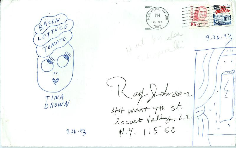Envelopes - Mail Art & Ephemera - Art - Ray Johnson Estatetest