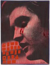 Oedipus Elvis Presley 1 , 1956 58, Ray Johnson. Promised gift of The William S. Wilson Collection of Ray Johnson