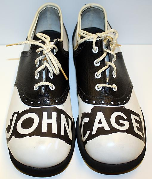 A Shoe (John Cage Shoes) 1977 12 by 8.75 inches