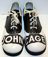 A Shoe John Cage Shoes 1977 12 by 8.75 inches