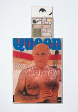 Ray Johnson, <i>Untitled (Picasso Queen)</i>, 1973. Mixed media on cardboard, Museum Frieder Burda