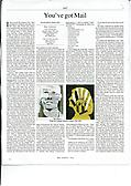 Ray Johnson Perloff review in the Times Literary Supplement