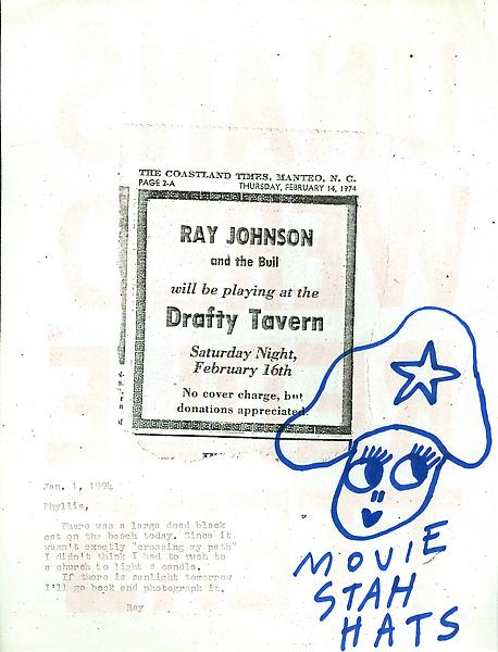 54 - From Ray Johnson - Mail Art & Ephemera - Art - Ray Johnson Estate