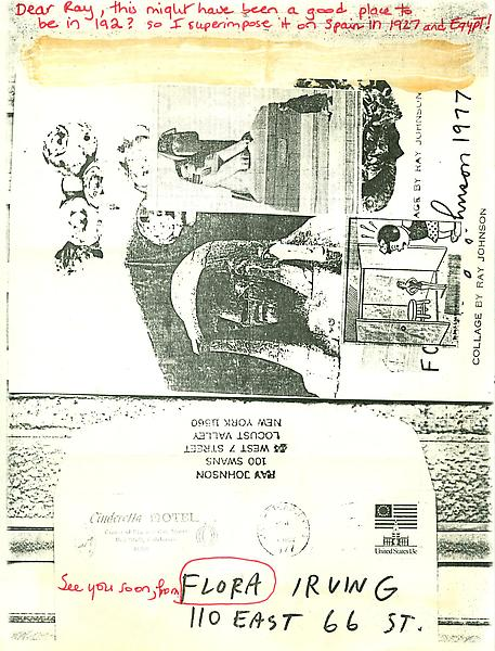 40 - To Ray Johnson - Mail Art & Ephemera - Art - Ray Johnson Estate