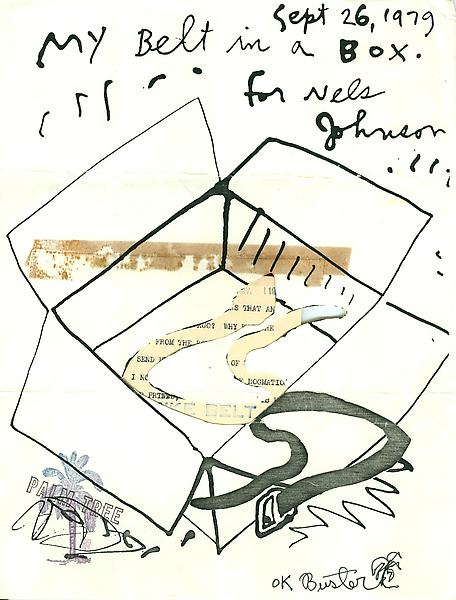 43 - To Ray Johnson - Mail Art & Ephemera - Art - Ray Johnson Estatetest
