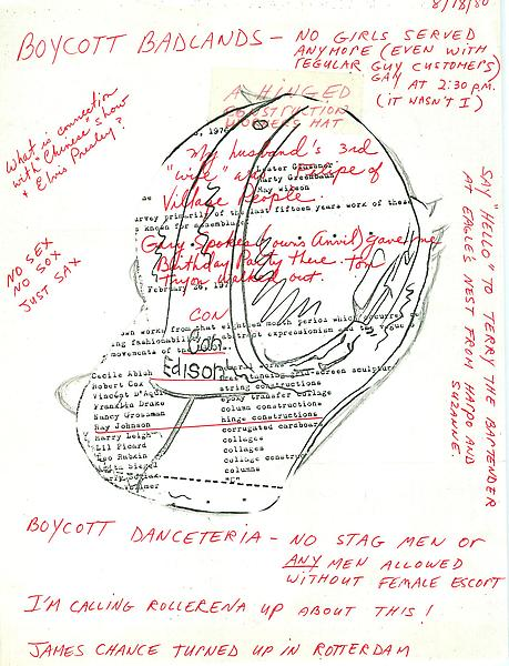44 - To Ray Johnson - Mail Art & Ephemera - Art - Ray Johnson Estate