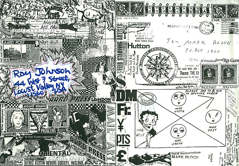 47 - To Ray Johnson - Mail Art & Ephemera - Art - Ray Johnson Estate