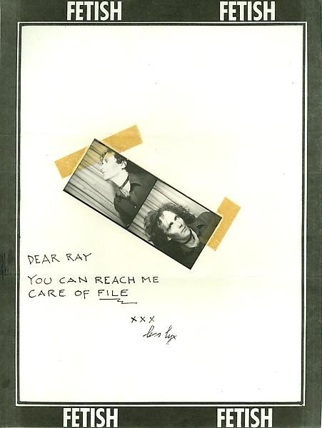 62 - To Ray Johnson - Mail Art & Ephemera - Art - Ray Johnson Estate