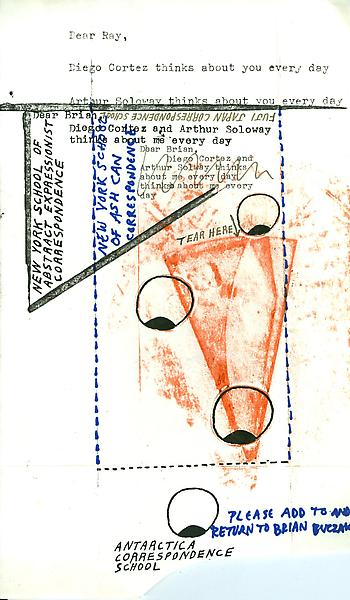 64 - To Ray Johnson - Mail Art & Ephemera - Art - Ray Johnson Estate