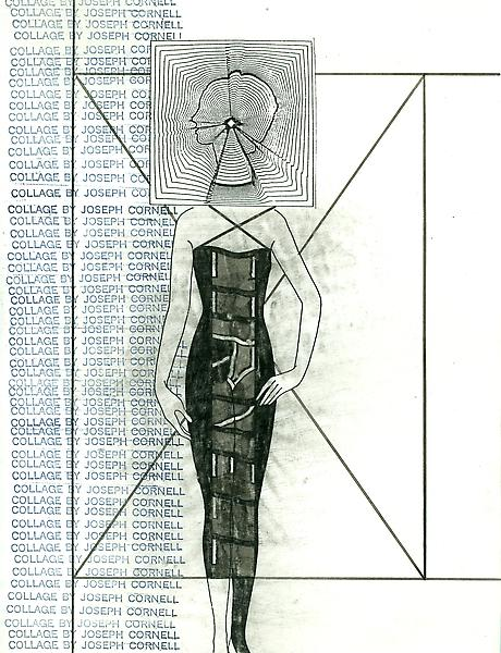art from ray johnson undated