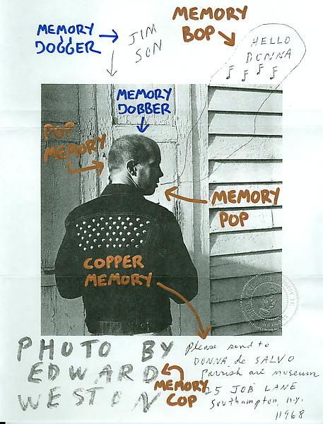 5 - To Ray Johnson - Mail Art & Ephemera - Art - Ray Johnson Estate