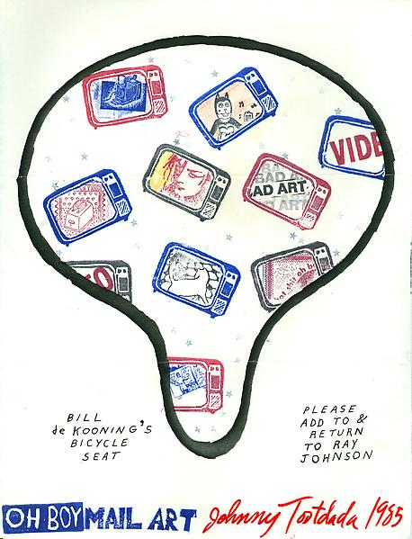 12 - To Ray Johnson - Mail Art & Ephemera - Art - Ray Johnson Estate