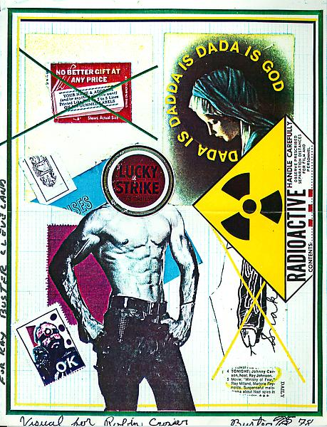 17 - To Ray Johnson - Mail Art & Ephemera - Art - Ray Johnson Estatetest