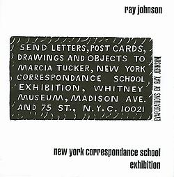 Exhibition flyer for New York Correspondence School NYCS exhibition at the Whitney Museum of American Art, 1970-71