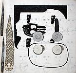 RAY JOHNSON COLLAGES OF ART, POETRY, MUSIC