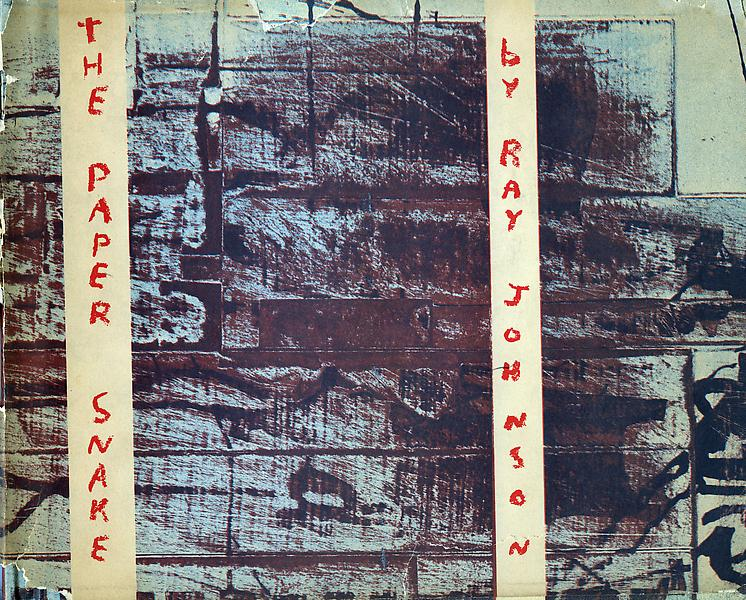 Ray Johnson s THE PAPER SNAKE published by Dick HIggins Something Else Press, New York, 1965