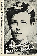 Ray Johnson's cover design for Arthur Rimbaud's Illuminations, New York: New Directions, 1957