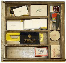 Ray Johnson s Desk Drawer of Stamps