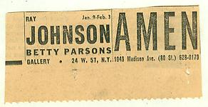 Ray Johnson s History