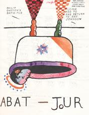 Anonymous Phillip Guston s Bat Tub mailing, c. 1987-89